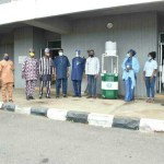 Coronavirus: NSE Abeokuta Donates Hand-washing machine to Ogun State Government