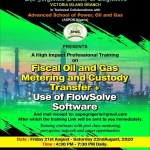 Workshop: Fiscal Oil and gas Metering and Custody Transfer: Use of Fiscal Engineer Software