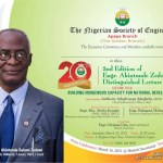 Apapa Engineers  set to hold 2nd Edition of Annual Akintunde Zedomi Distinguished lecture
