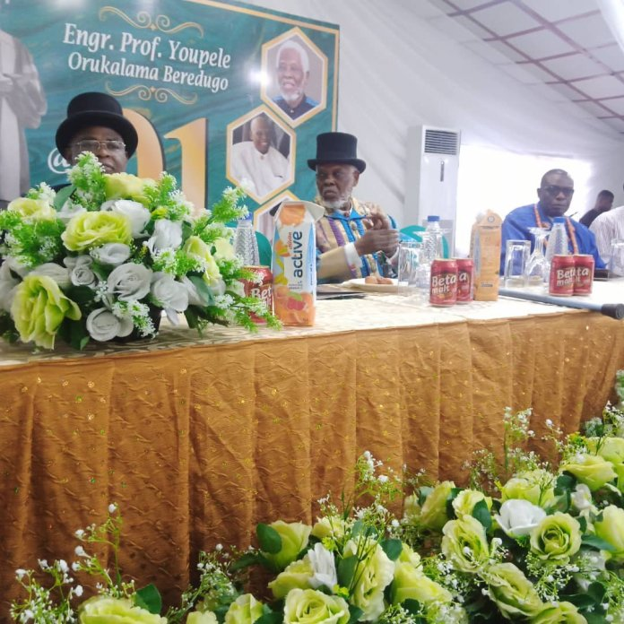 Family and Protegees Mark Prof. Youpele Beredugo 91s birthday: launch Autobiography