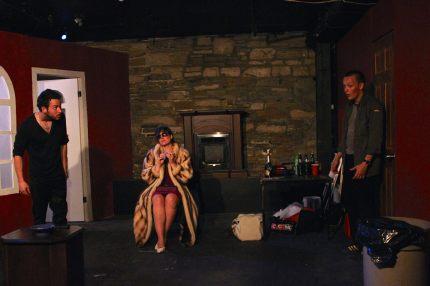 with Annemieke Wade & Cameron Laurie in Mercury Fur