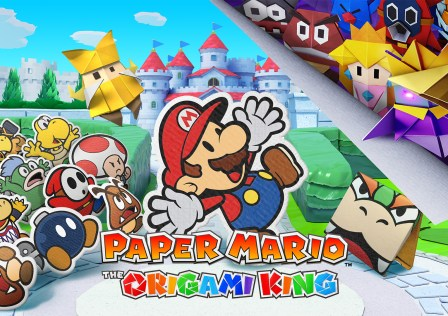 Paper Mario The Origami King Key Art 1920×1080