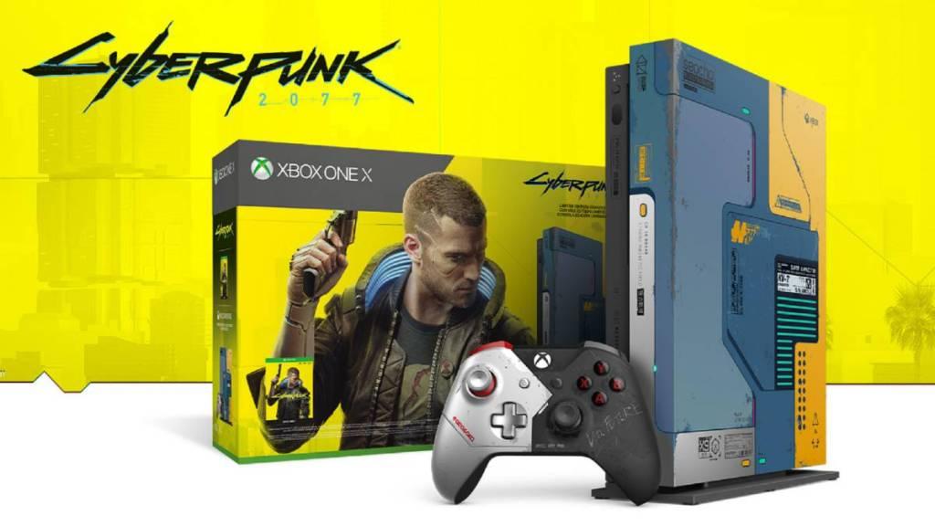 Xbox One X Edicion Especial De Cyberpunk 2077 Incluye Dlc Gratis Epic Network