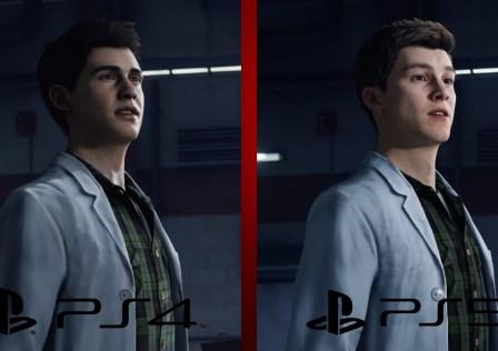 Spider-Man PS4 vs PS5