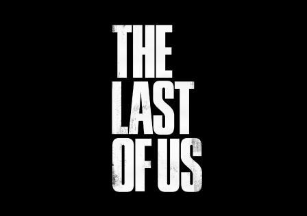 The-Last-Of-Us-Logo-White-Black-Background