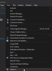 visual-studio-menu-tools-options