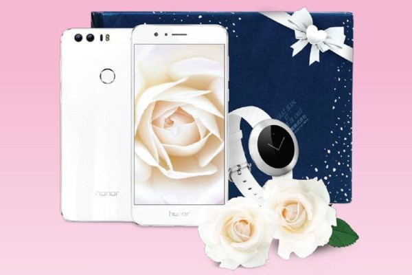 Honor 8 White Day
