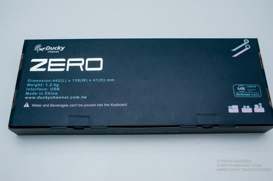 Ducky Zero DK2108 Mechanical Keyboard Review