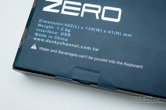 Ducky Zero DK2108 Mechanical Keyboard Review 4