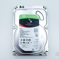 Seagate IronWolf 4TB top view