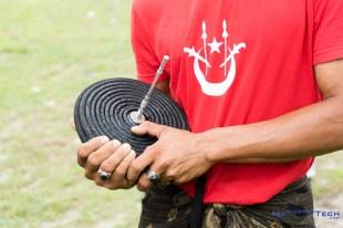 Kelantan's traditional spinning gasing