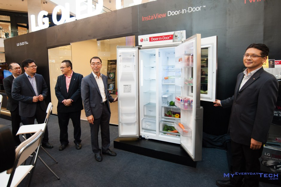 LG InstaView Door in Door fridge