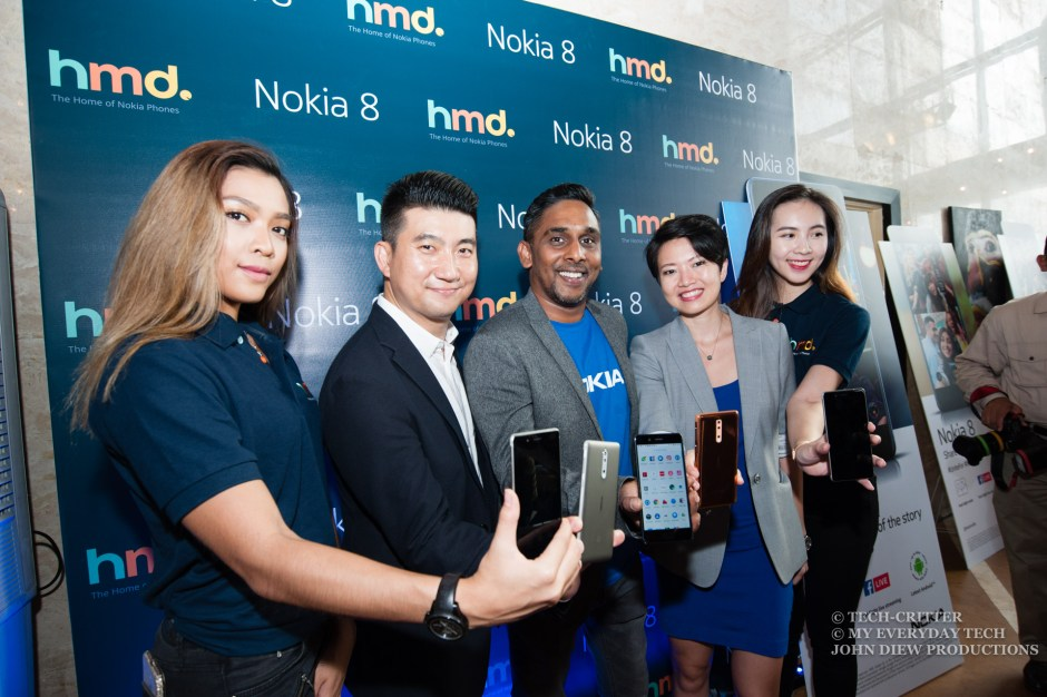 Nokia 8 Launch