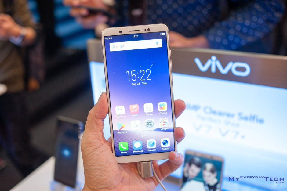 vivo V7 Plus launch