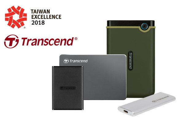 Transcend Taiwan Excellence 2018