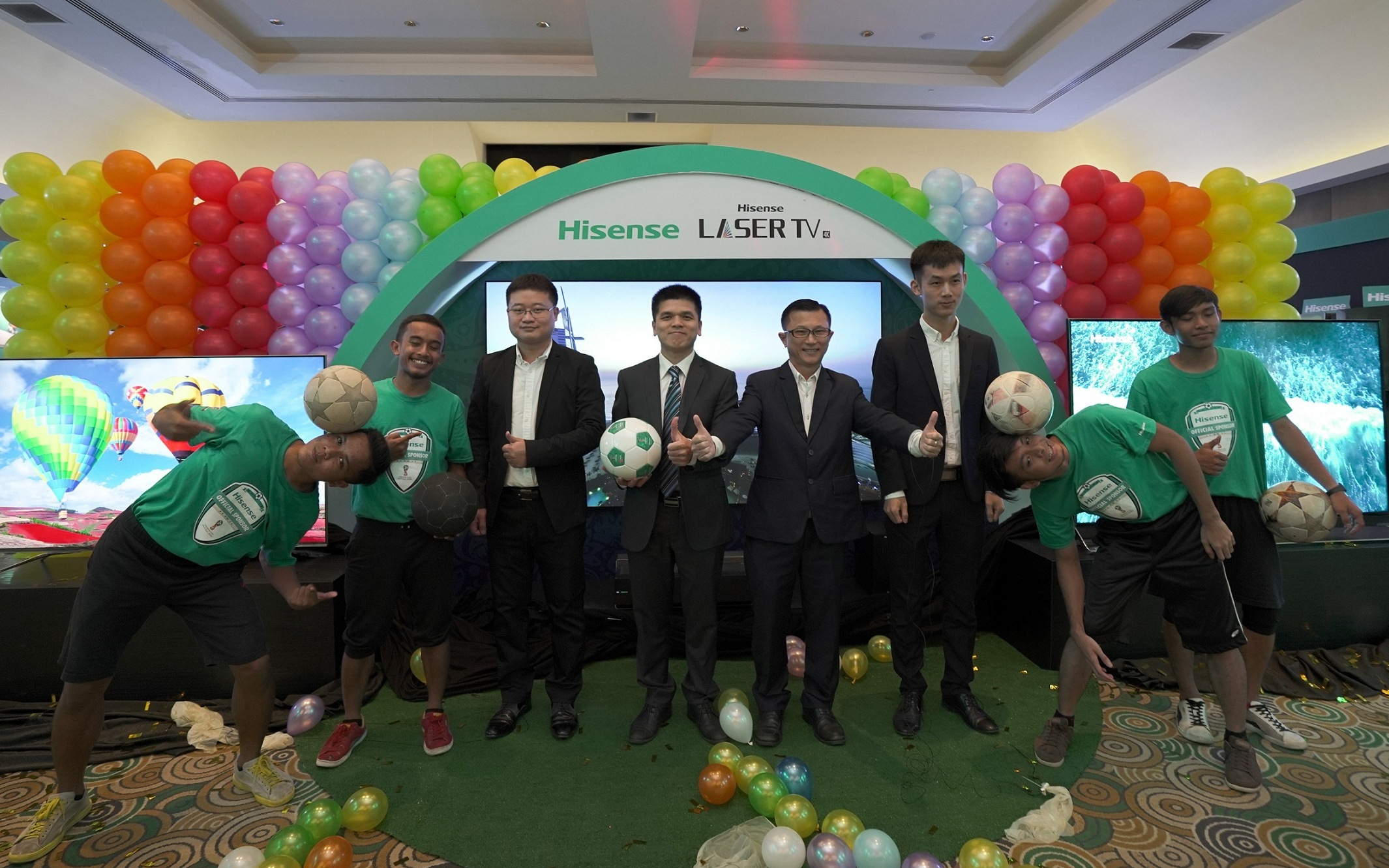 Get Ready for FIFA World Cup 2018 with Hisense U9A, U7A and Laser TV