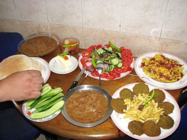 エジプトの朝食 (1)