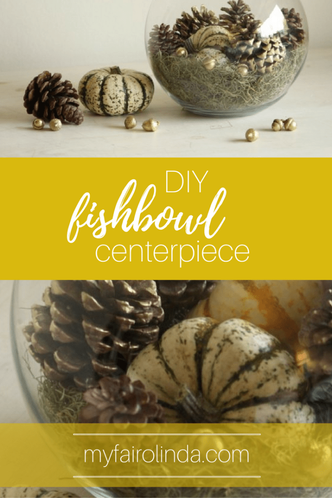 How to DIY your own easy Fishbowl Centerpiece!