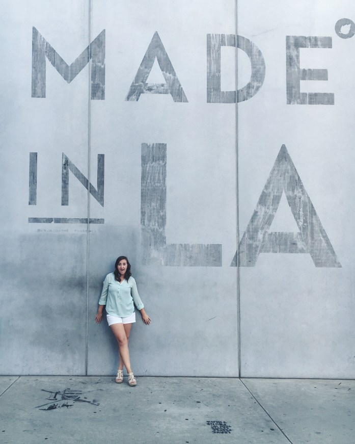 The Made in LA Wall at Cisco Home on Melrose Avenue in Hollywood, California | The Most Instagrammable Street in LA