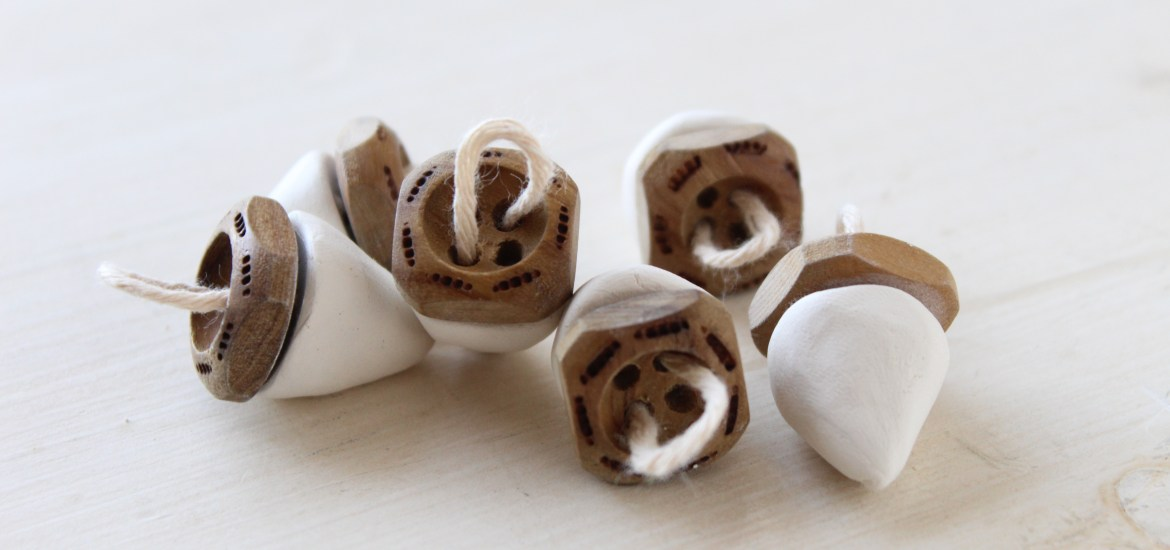 Mini Clay Acorns DIY by my Fair Olinda!