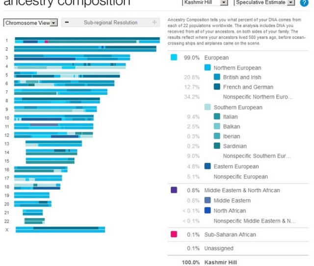 Andme Ancestry Composition The Reason  And Me
