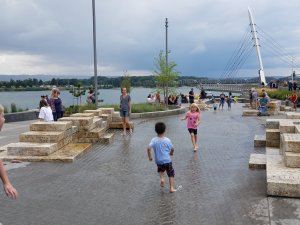 vancouver playground waterfront prk