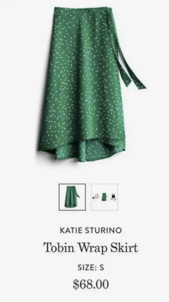 Stitch Fix Katie Sturino Tobin Wrap Skirt