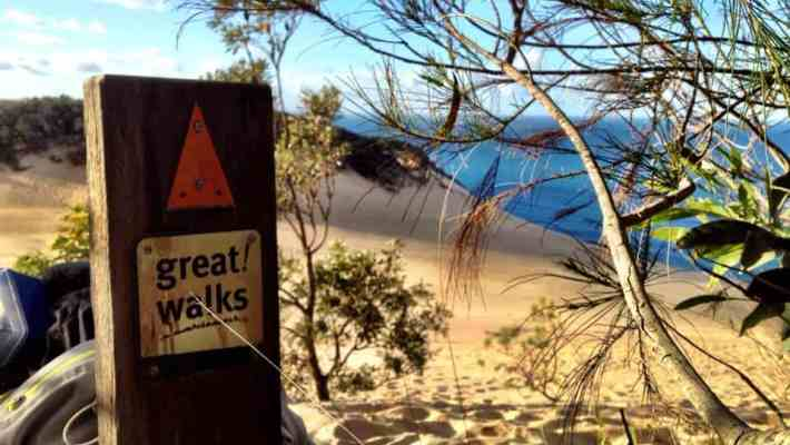 Rainbow Beach and Double Island Point without a 4WD: Overnight Hike in Cooloola National Park