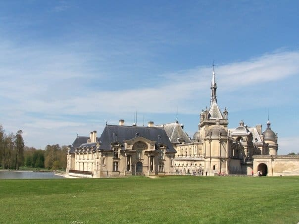 chateau of chantilly