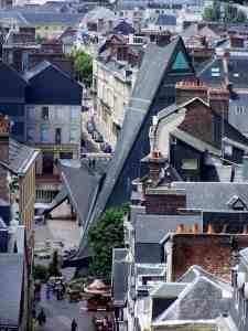 Rouen - Place du Vieu