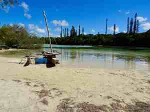 New Caledonia - Isle of Pines - Traditional Boat