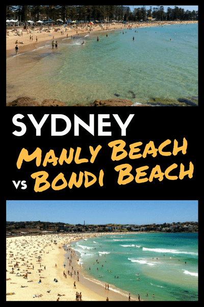 Sydney: Manly or Bondi Beach?