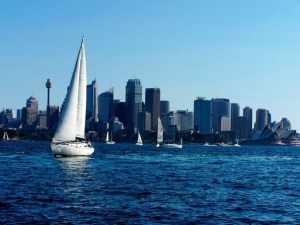 Sailing Australia Sydney Harbour