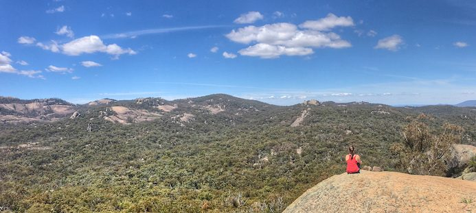 Girraween National Park - View from the top of Castle Rock