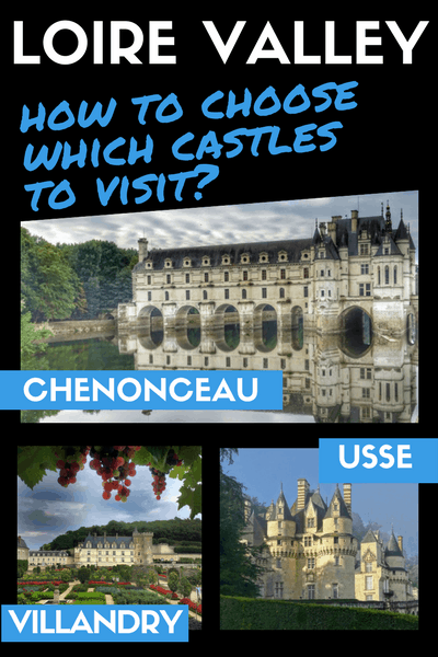 Loire Valley How to choose which castles to visit