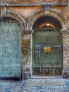 Lyon - Traboule entrance