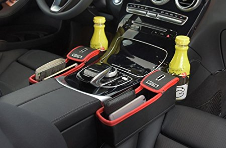 car seat gap side pocket road trip organiser
