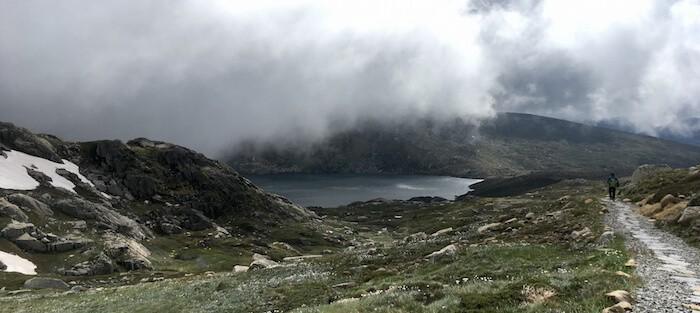 Mount Kosciuszko - Main Range Summit loop - Blue lake
