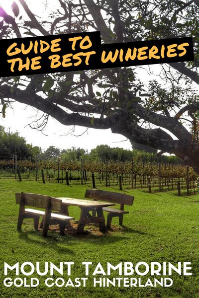 The Best Mt Tamborine Winery
