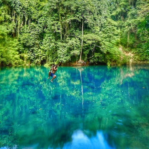 Santo Blue Holes - Riri Blue hole