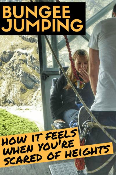 Nevis Bungee Jump Queenstown New Zealand - Scared of heights