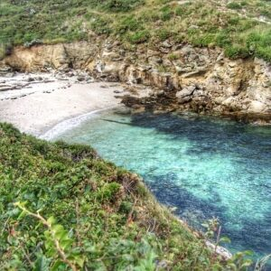 Beach on Belle Ile - Brittany