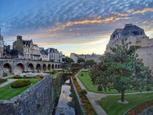 Vannes Rampart - Best of Brittany