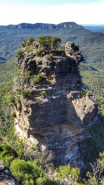 One of the Three Sisters Blue Mountains Katoomba