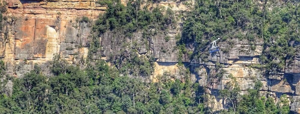Scenic World from Honeymoon Bridge Katoomba Blue Mountains