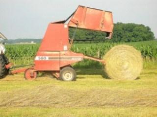 round bale of hay 4