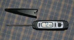 Tru Temp Compact Instant Read Digital Thermometer