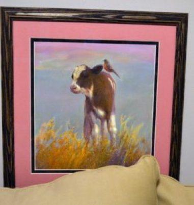calf print