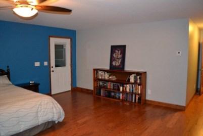 master bedroom bookcase