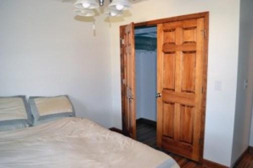 bedroom closet after